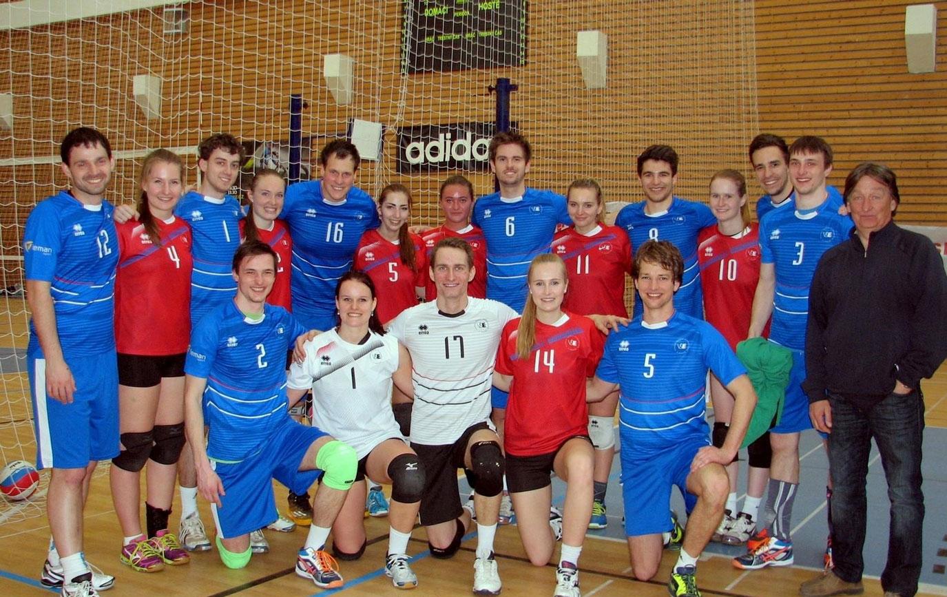 Reprezentační volejbalové týmy na kvalifikačním turnaji pro ČAH 2017
