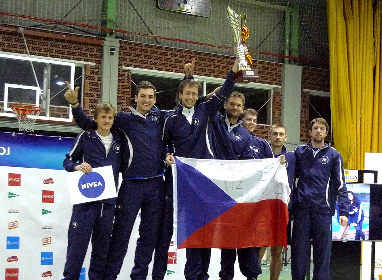 Volejbalová reprezentace vybojovala dvě medaile na turnaji v Madridu