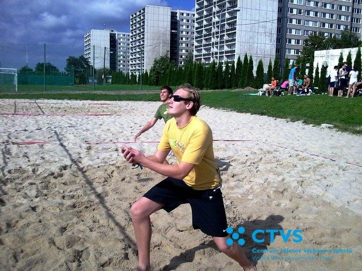 Beach volejbalové zahájení akademického roku 2010/2011