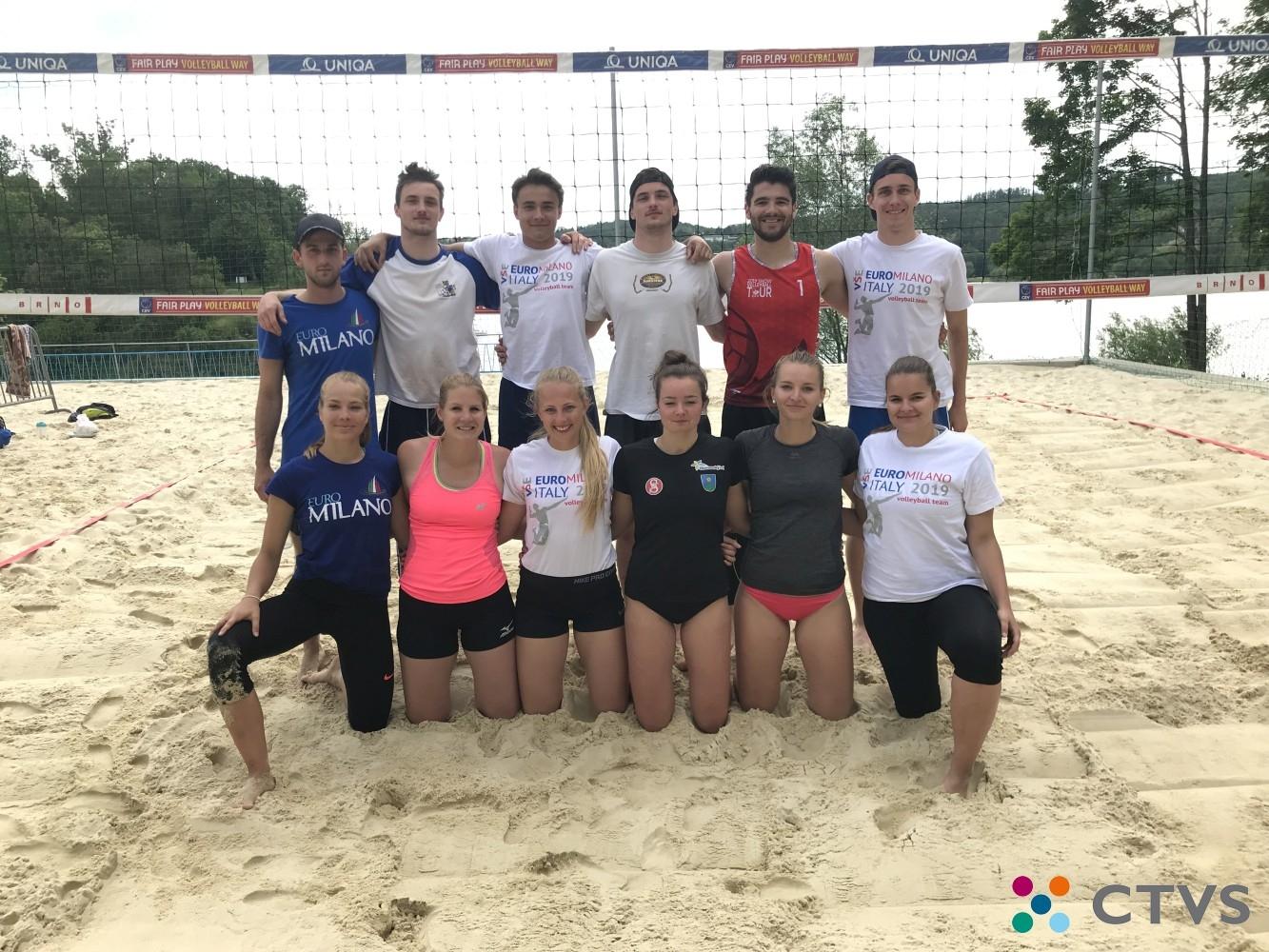 Akademické mistrovství ČR 2020 v beachvolejbalu s účastí studentů VŠE