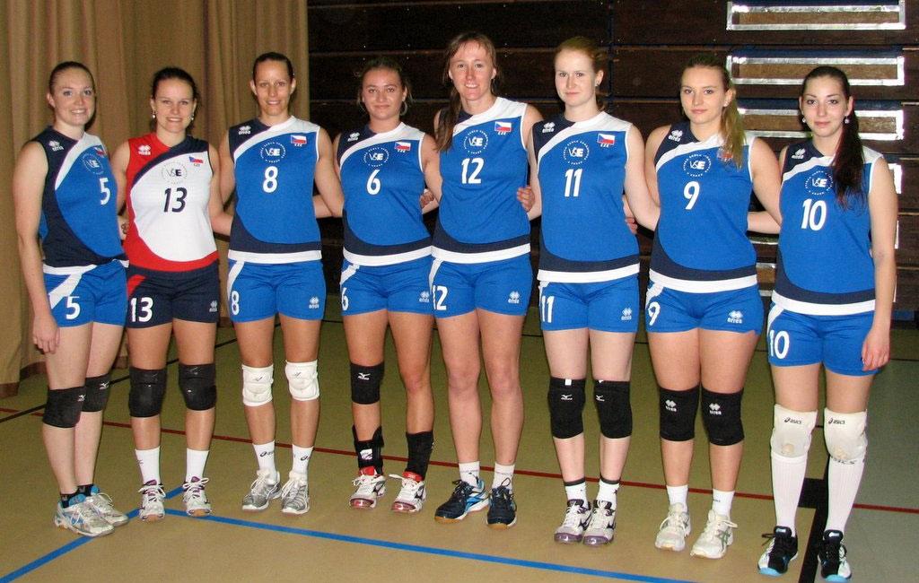 Účast volejbalových týmů VŠE na kvalifikaci pro ČAH 2015