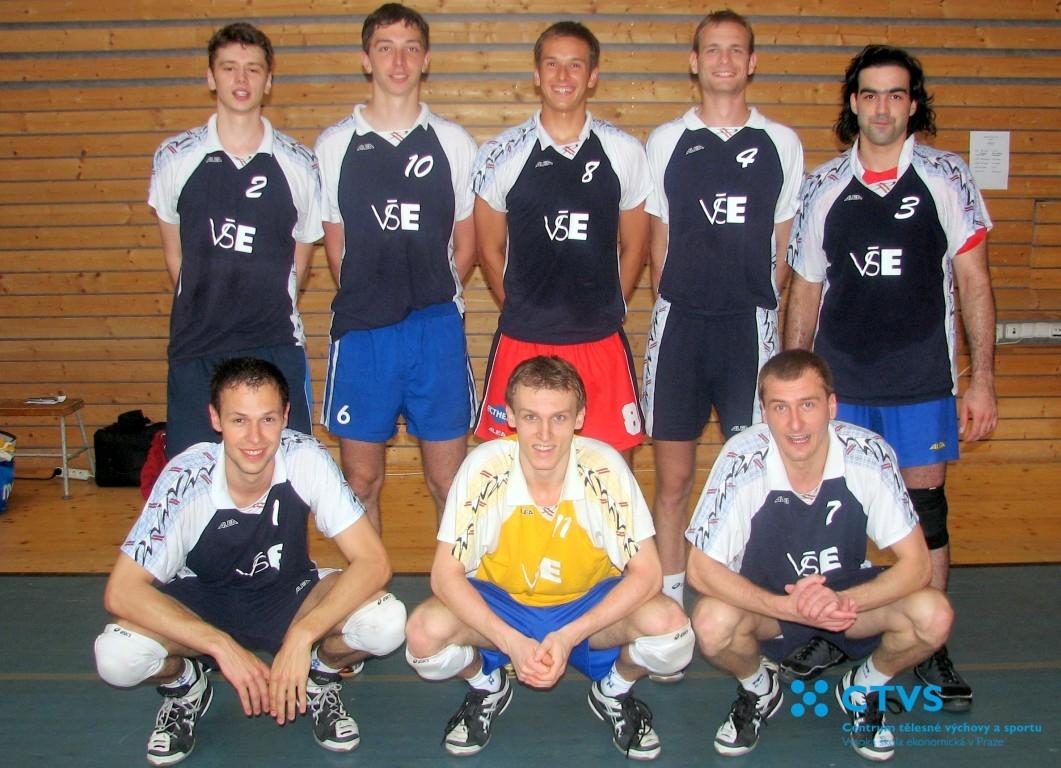 Studenti VŠE vybojovali titul Akademický mistr ČR ve volejbale pro rok 2010