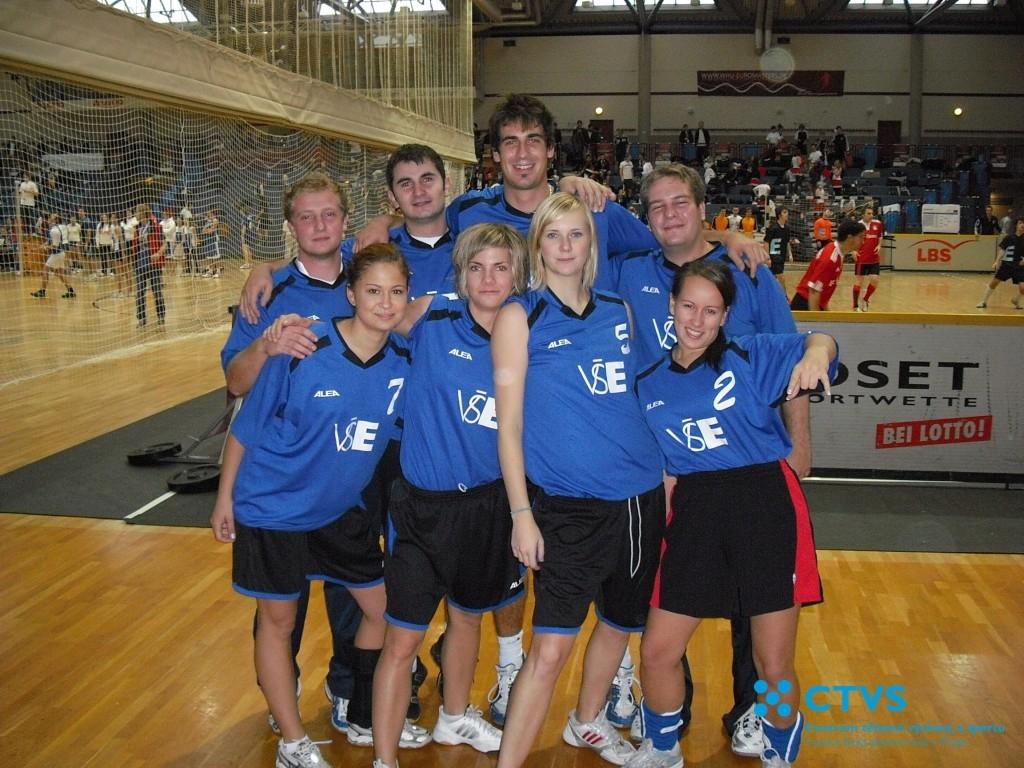 Vítězství volejbalového týmu VŠE – Euromasters 2009