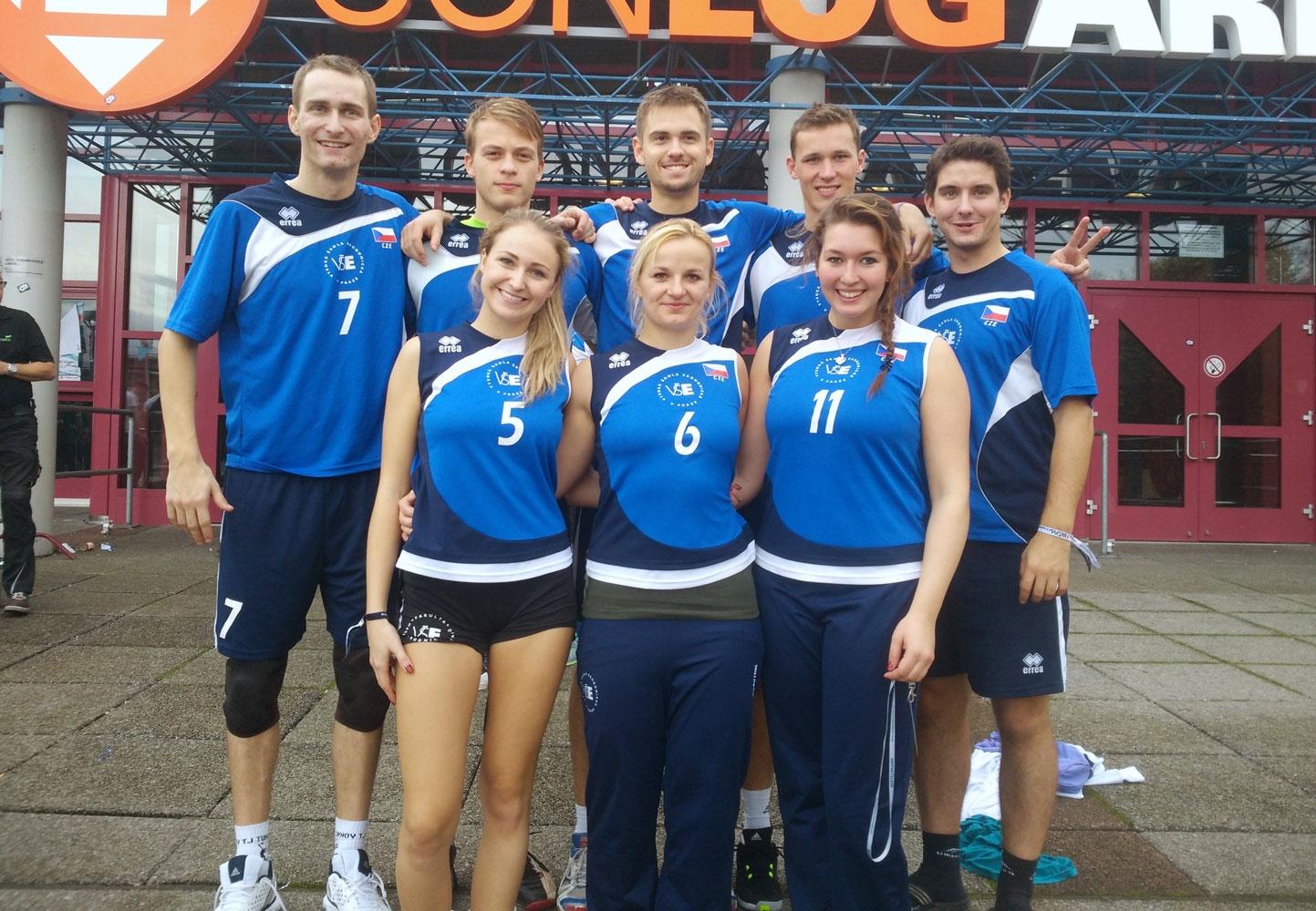 VŠE ovládla volejbalový turnaj Euromasters 2015 v Německu
