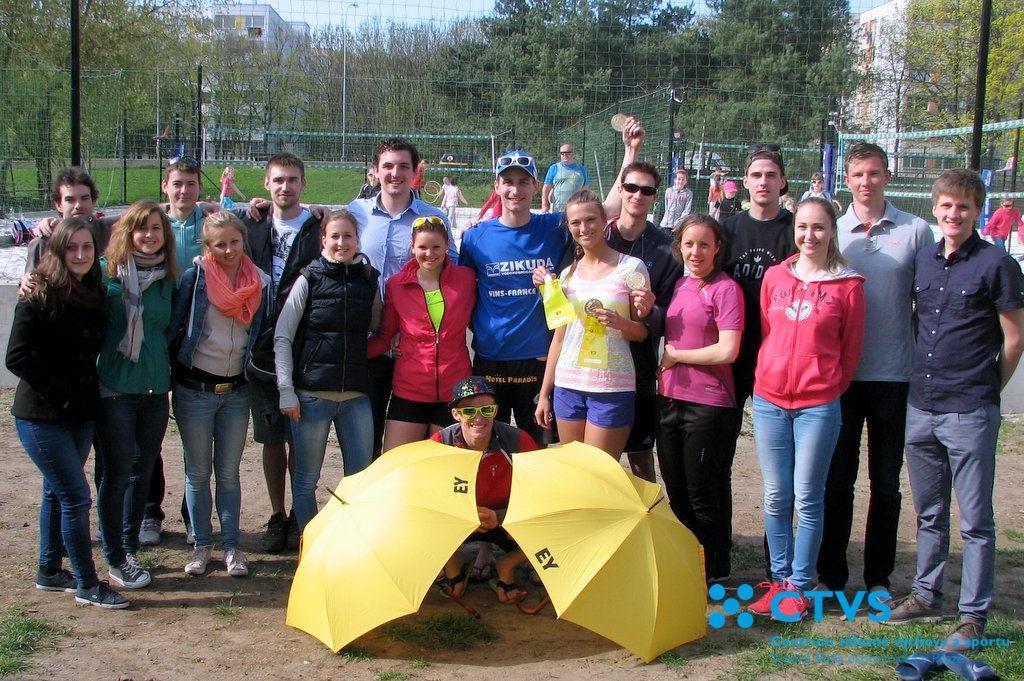 Rektorský sportovní den 2015 – Beachvolejbalový turnaj