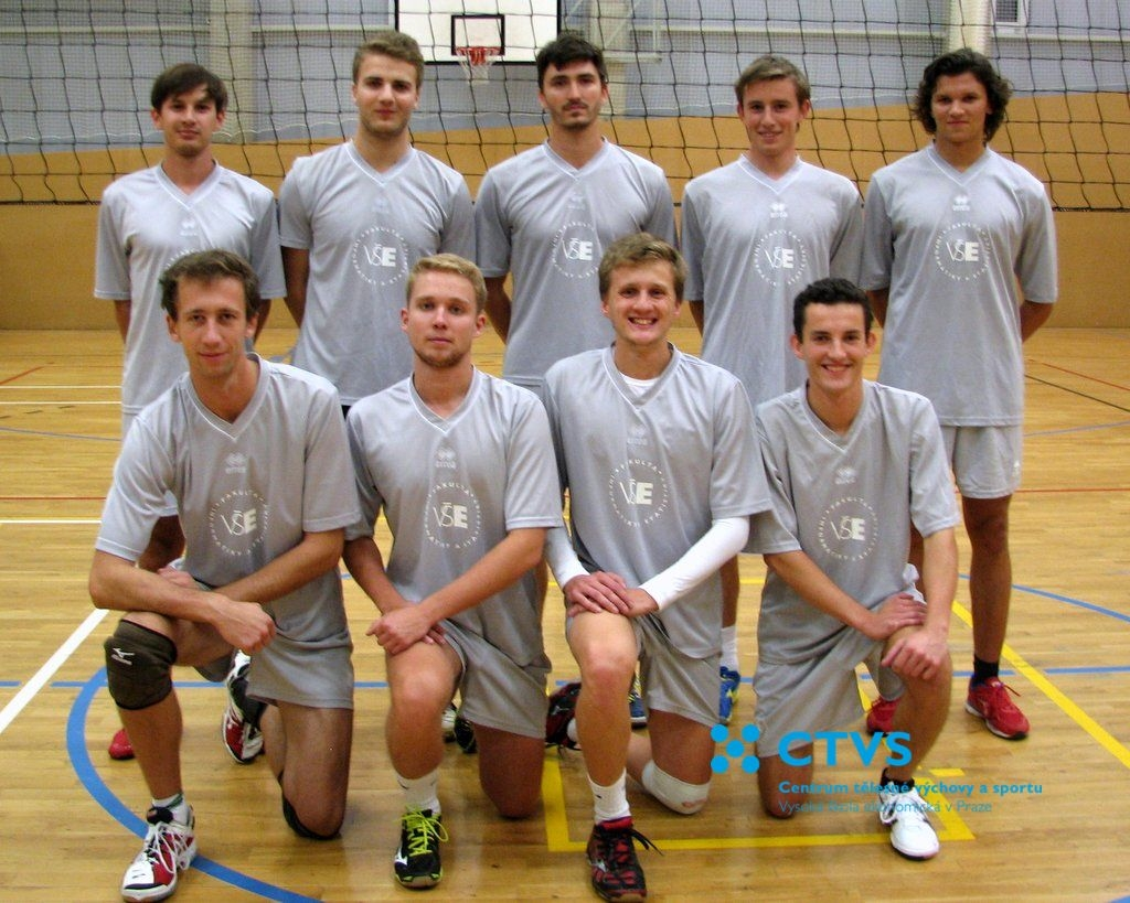 Hráči FIS - Volejbalová liga VŠE