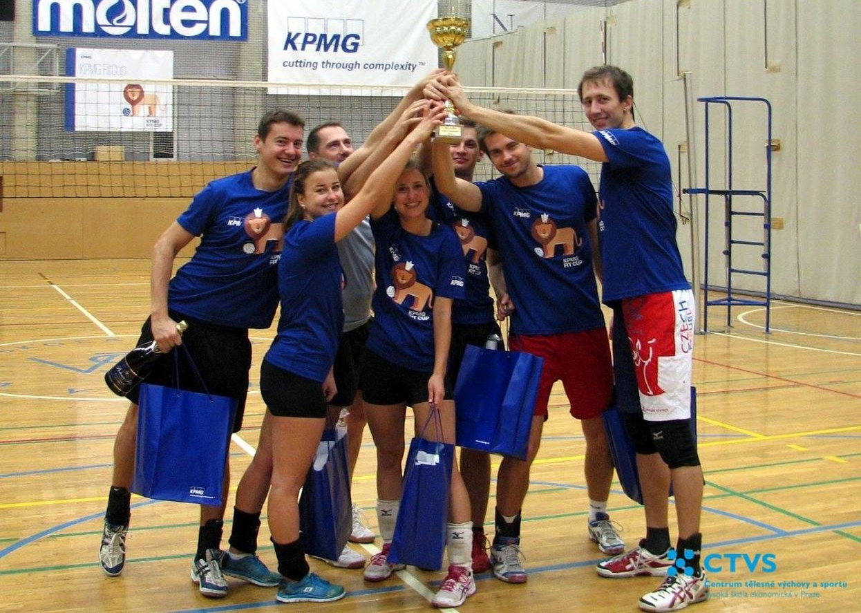 Vítězný tým KPMG Fit Cup 2016