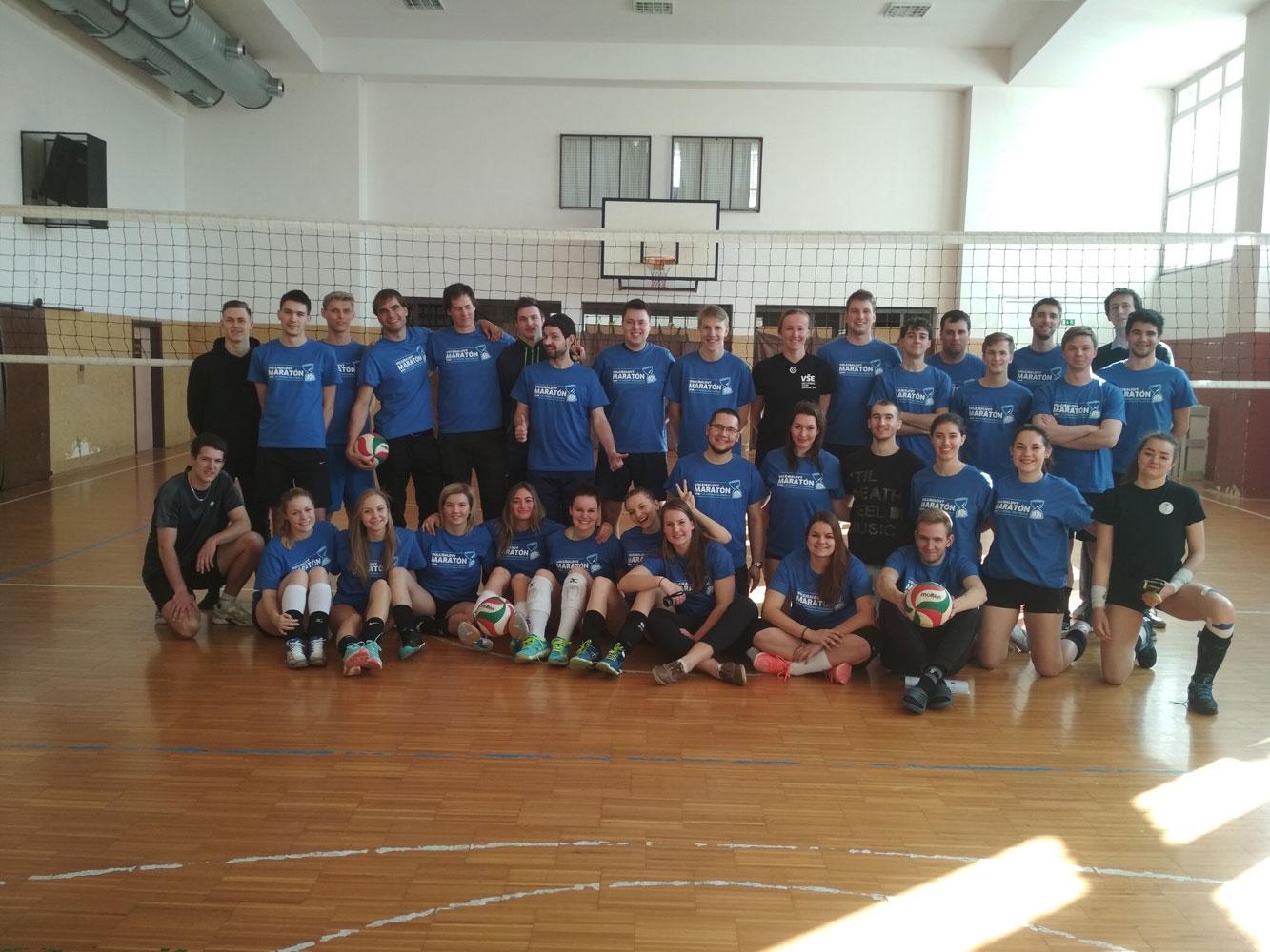 23. ročník Volejbalového maratónu – 24 hodin dobrodružství