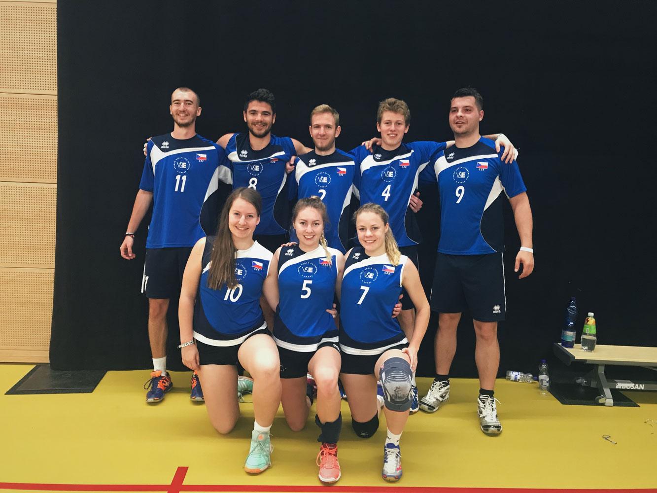 Vítězství volejbalové reprezentace na turnaji Royals Cup v Maastrichtu