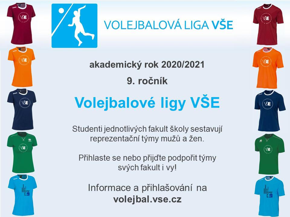 9. ročník Volejbalové ligy VŠE