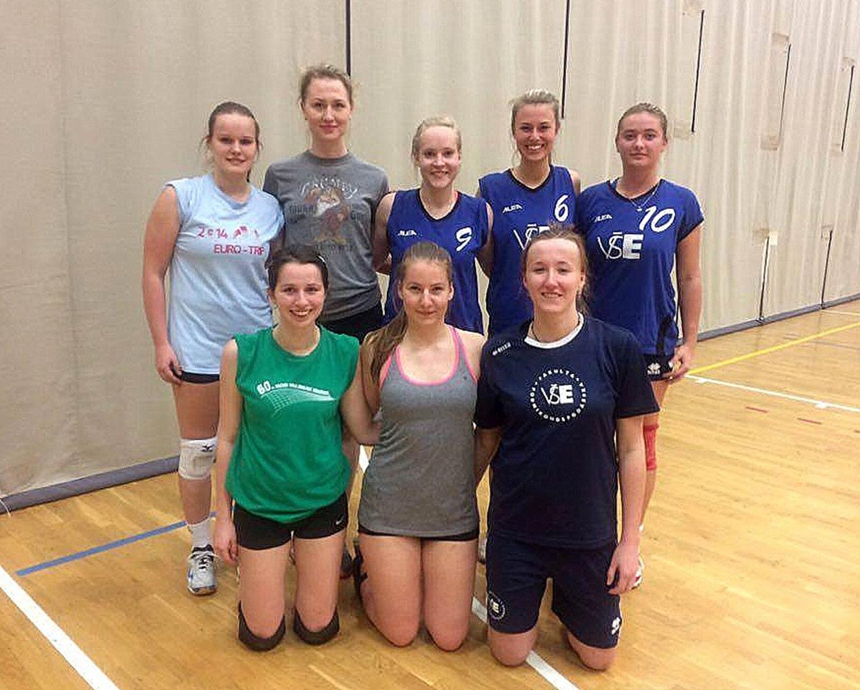 Reprezentační týmy v Pražské vysokoškolské volejbalové lize