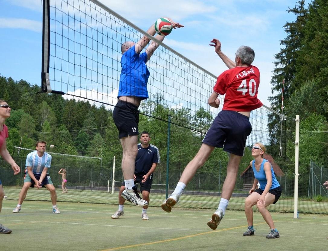 Setkání akademické obce volejbalistů a přátel volejbalu VŠE