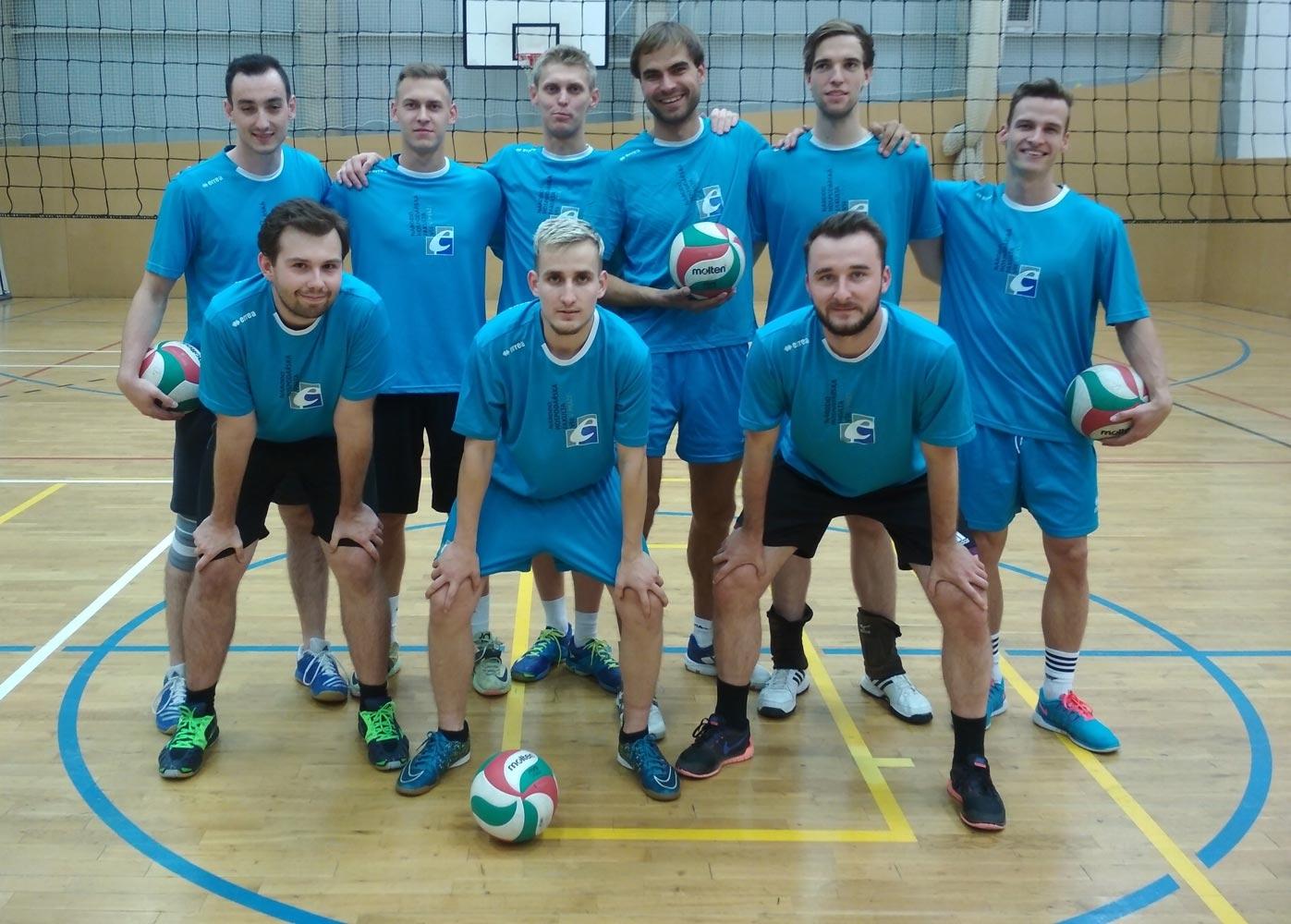 7. ročník - Volejbalová liga VŠE - Tým NF muži
