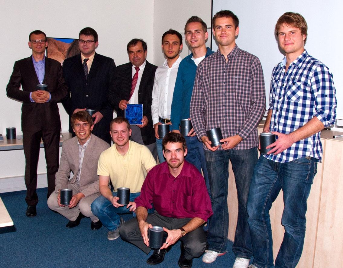 Reprezentační týmy fakult školy v 1. ročníku Volejbalové ligy VŠE