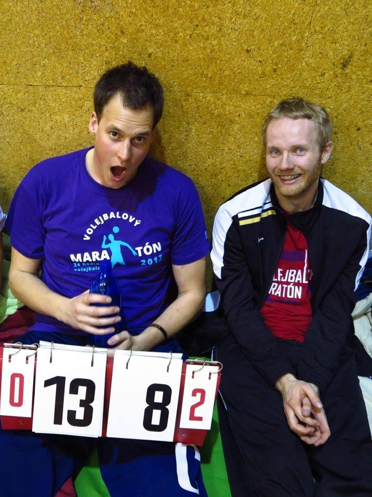 Na VŠE proběhl Volejbalový maratón – 24 hodin volejbalu