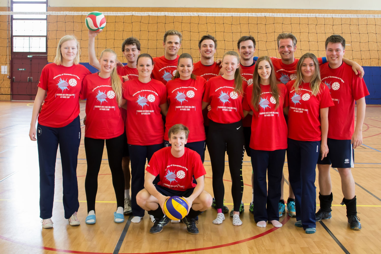 Vítězství volejbalové reprezentace školy na turnaji T5B Paříž 2018